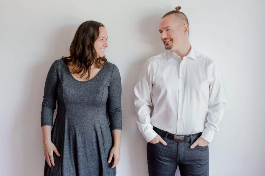 Hélène Boissonneault et Pascal Fredette